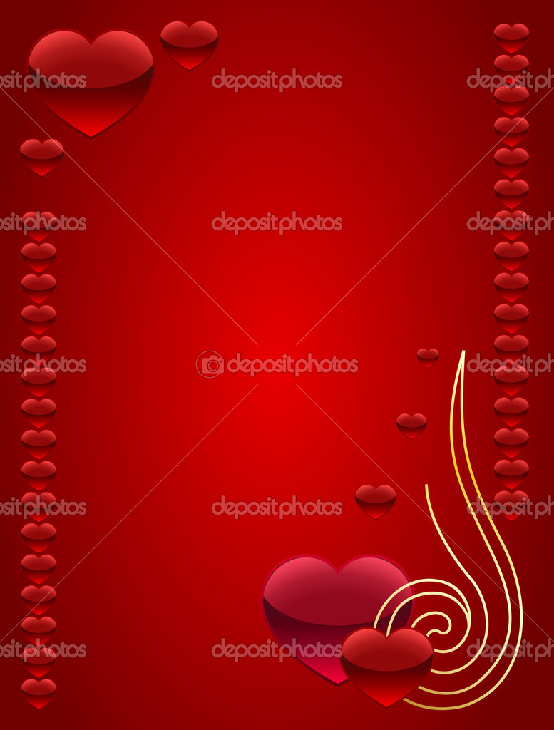 Card for Valentine's day — Stock vektor #2135053