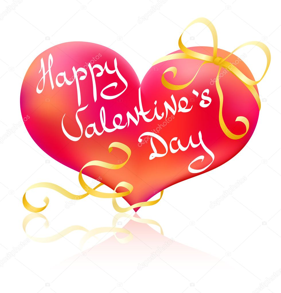 Happy Valentine's Day!  Stockvectorbeeld #2171348