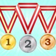 Medals — Stock Vector #2511541