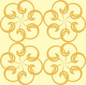 Ornate seamless background — Stock Vector