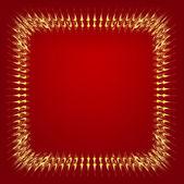 Gouden frame — Stockvector