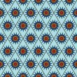 Stock vektor: Seamless abstract blue pattern