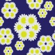 Seamless floral pattern — Vector de stock