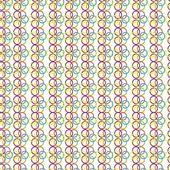 Seamless art circle pattern — Stock Vector