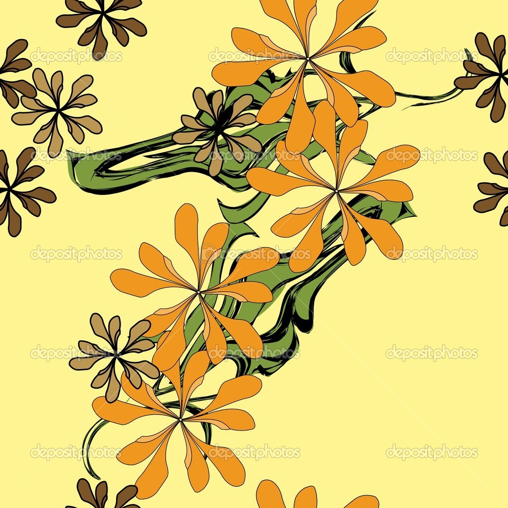 好看的ka't花卉边框图片