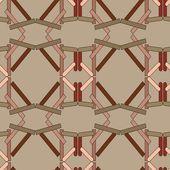 Seamless abstract pattern — Vector de stock