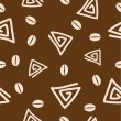 Seamless coffee pattern 2. — Stock Vector