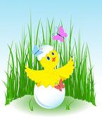Chicken's birthday. — Stock vektor