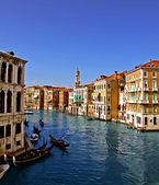 El gran canal de venecia 3, — Foto de Stock