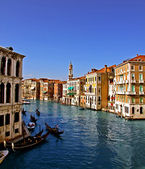 The Grand Canal in Venice 3, — Foto de Stock