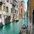 Stock Photo: One of channels in Venice,