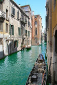 One of channels in Venice, — Stock Photo