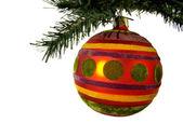 装饰 ;圣诞节 ;假期 ;球; — 图库照片