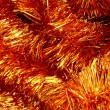 Tinsel for a fur-tree - Stock Photo