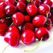 Sweet cherry in water drops — Stock Photo #2303548