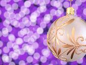 クリスマスの球 — ストック写真