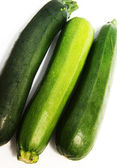 Green vegetable marrows 1 — Stock Photo
