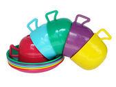 Colour mugs — Stock Photo