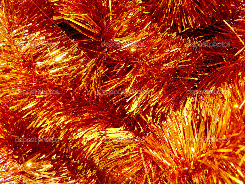 Brilliant tinsel for a fur-tree                                 Stock Photo #2302997