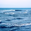 Waves by the dark blue sea 1 — Stock Photo