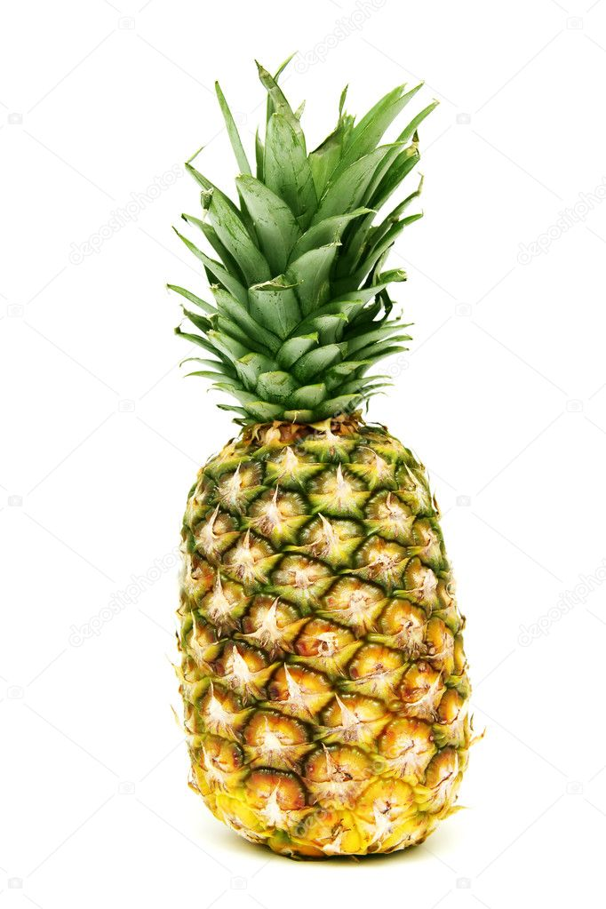 Pineapple isolated on a white background   #2469252
