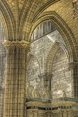 Saint Denis Cathedral, Paris. — Stock Photo