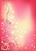 Abstract valentine`s background. — Wektor stockowy