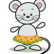 Royalty-Free Stock Vector Image: Funny mouse.