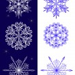 Royalty-Free Stock Vector Image: Set of snowflakes.