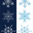 Set of snowflakes. — Stock Vector