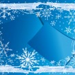 Royalty-Free Stock Vektorfiler: Winter  background.