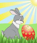 Easter card — Cтоковый вектор