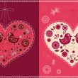 Royalty-Free Stock Vector Image: Valentine`s card.