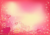 Abstract valentine`s background. — Stockvektor