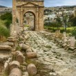 Ancient Jerash ruins, Jordan — Stock Photo