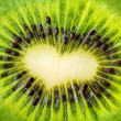 Kiwi heart — Stock Photo #2626221