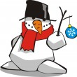 Royalty-Free Stock Vector Image: Snowman