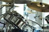 Drums closeup — Stock Photo