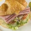 Ham sandwich — Stock Photo