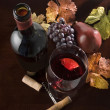 Wine still life - Stock Photo