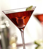 Pink-a-tini — Stock Photo