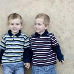 Identical twins — Stock Photo #2206377