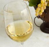 Chardonnay wein — Stockfoto