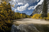 Fall scene, Yosemite — Stock Photo
