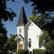One room country church - Stock Photo