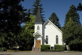One room country church — Stock Photo