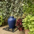 Garden fountain idea — Stockfoto #2239699