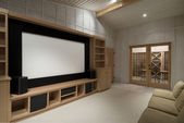 Home Theatre — Foto Stock