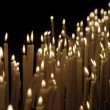 Foto Stock: Candlelight
