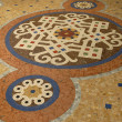 Tile floor in Italy — Stock Photo